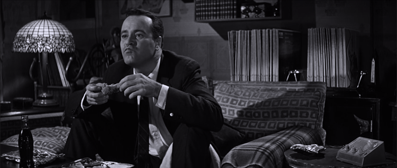 Notorious sexpot Jack Lemmon in The Apartment.